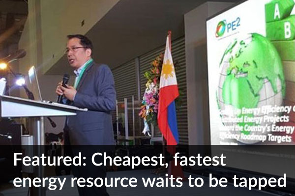 Cheapest, fastest energy resource waits to be tapped